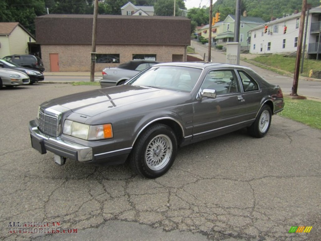 Lsc 1990 Lincoln Mark Vii Lsc In Dark Titanium Metallic