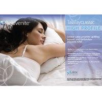 Rejuvenite Talalay Classic High Profile Latex Pillow ...