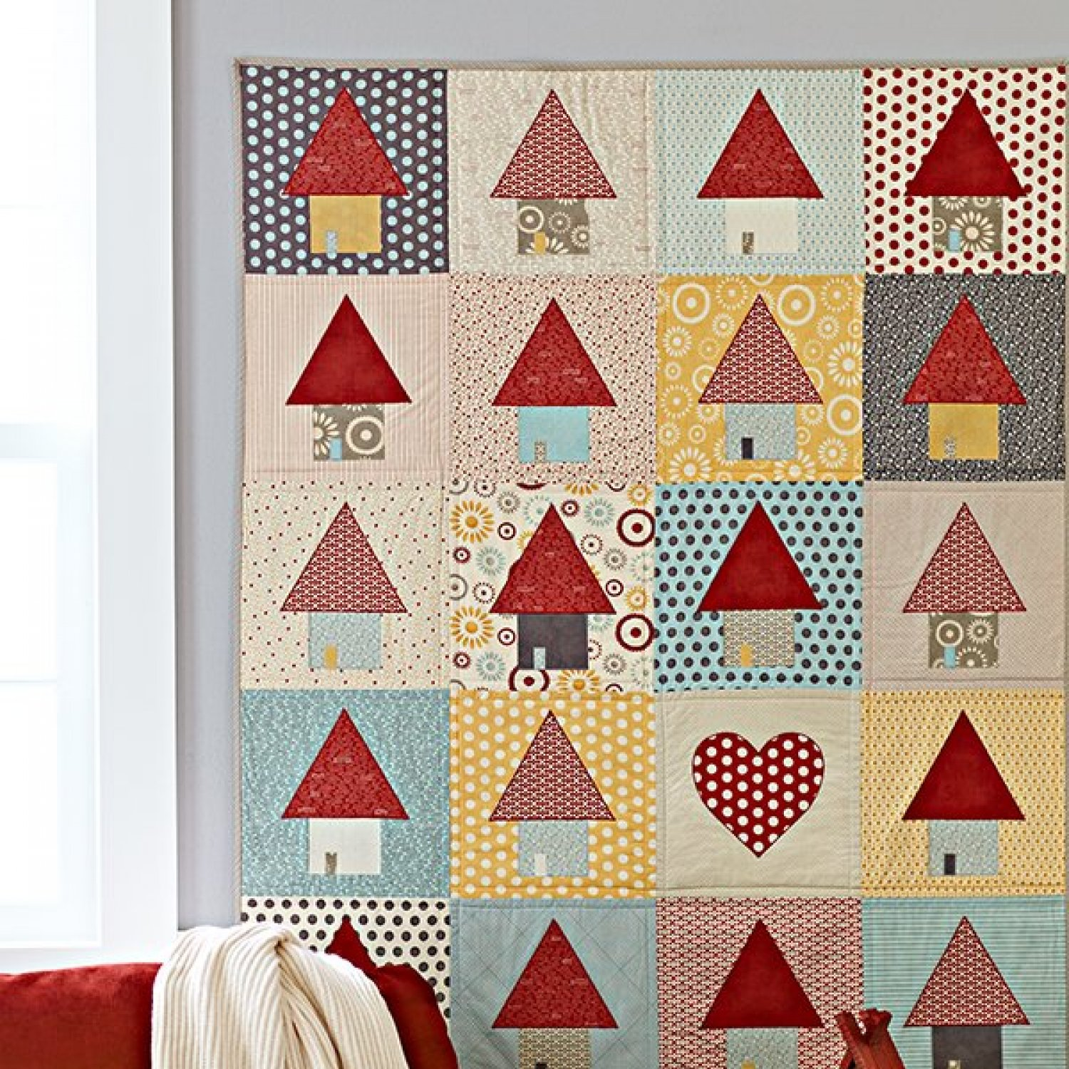 Applique Quilts With Appliqué Shapes Allpeoplequilt