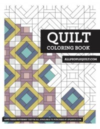 Free Quilting Coloring Books | AllPeopleQuilt.com