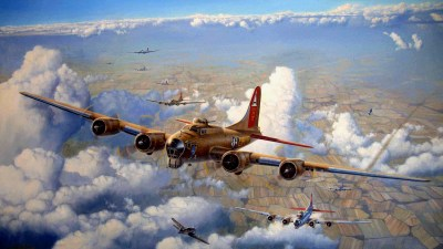 64 Boeing B-17 Flying Fortress HD Wallpapers | Background Images - Wallpaper Abyss - Page 2