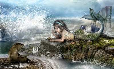 146 Mermaid HD Wallpapers   Backgrounds - Wallpaper Abyss - Page 4