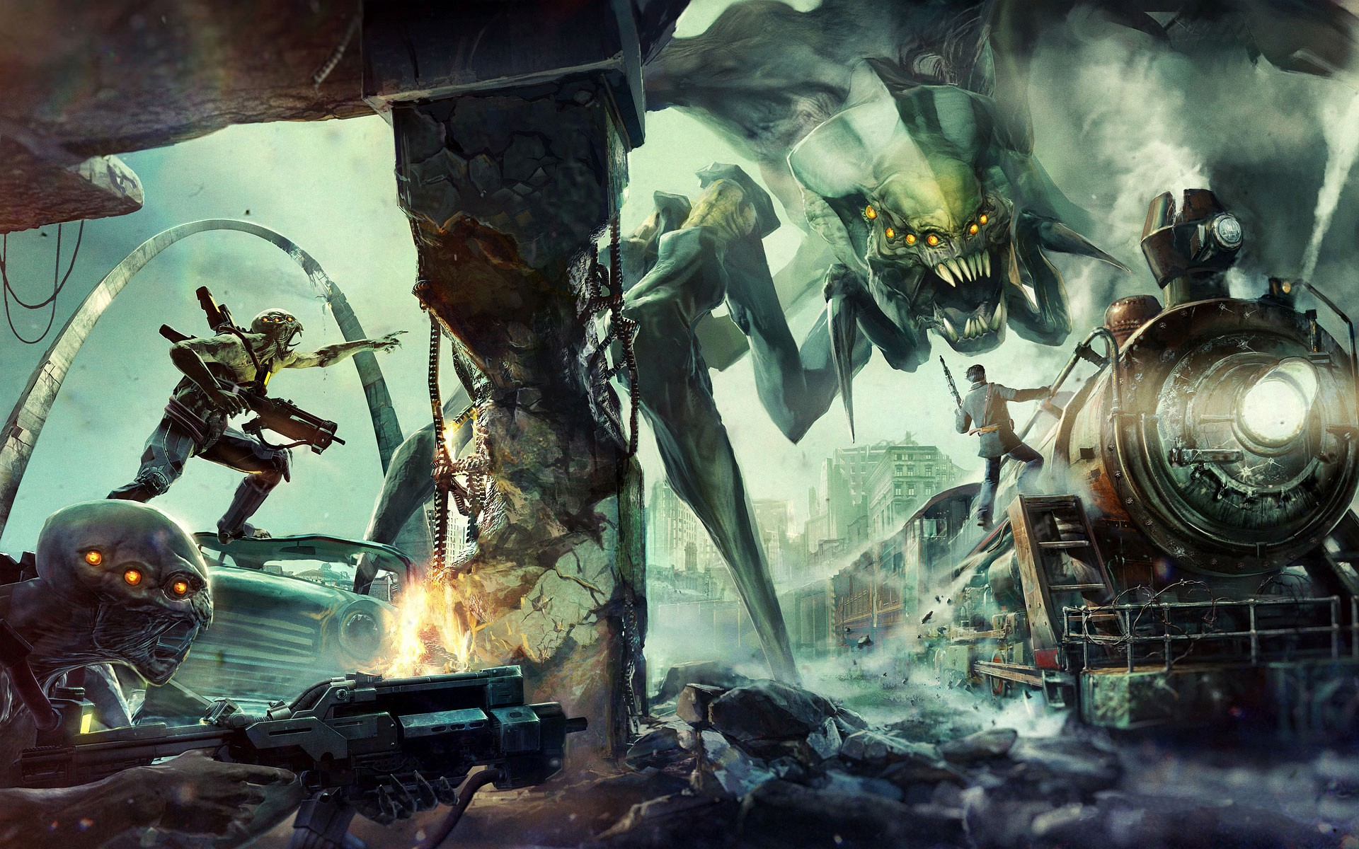 Resistance Fall Of Man Wallpaper 8 Resistance 3 Hd Wallpapers Background Images