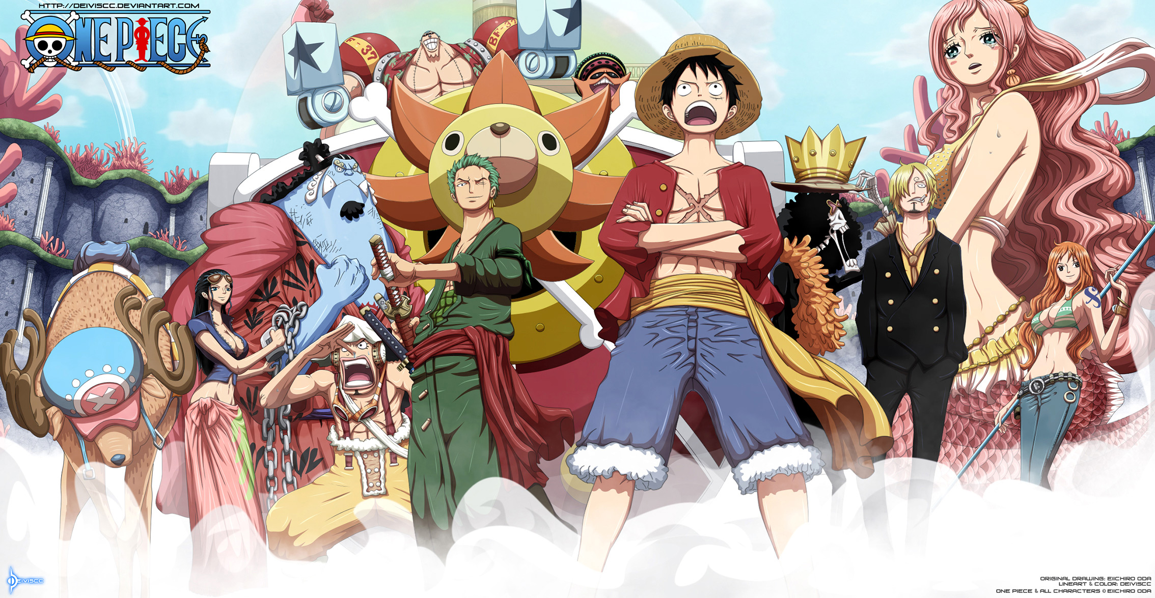 Tony Tony Chopper Wallpaper Hd 7 Shirahoshi One Piece Hd Wallpapers Background Images