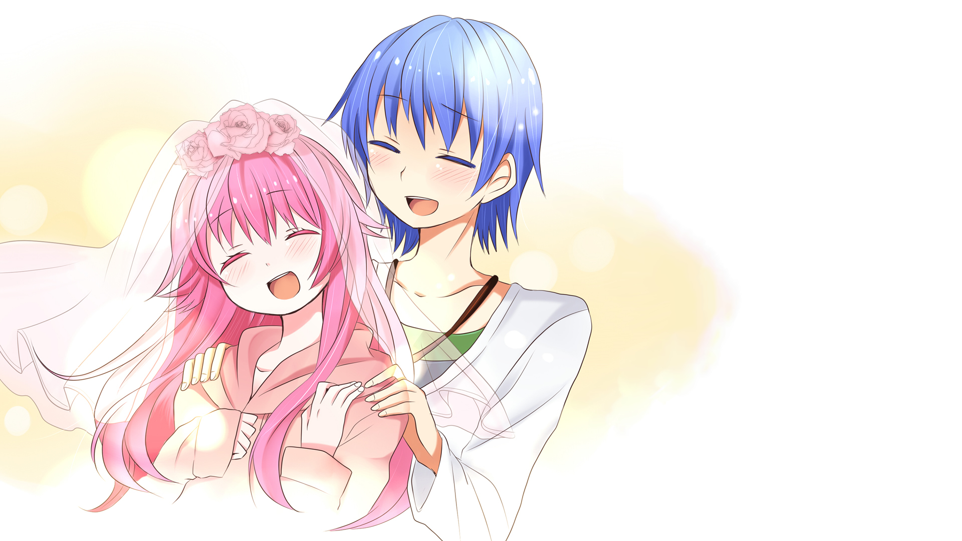 Sad Girl And Boy Full Hd Wallpapers Angel Beats Hd Wallpaper Background Image 1920x1080