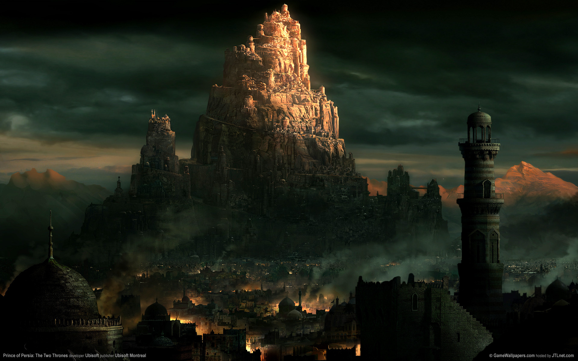 Prince Of Persia Hd Wallpaper Prince Of Persia The Two Thrones Full Hd Wallpaper And