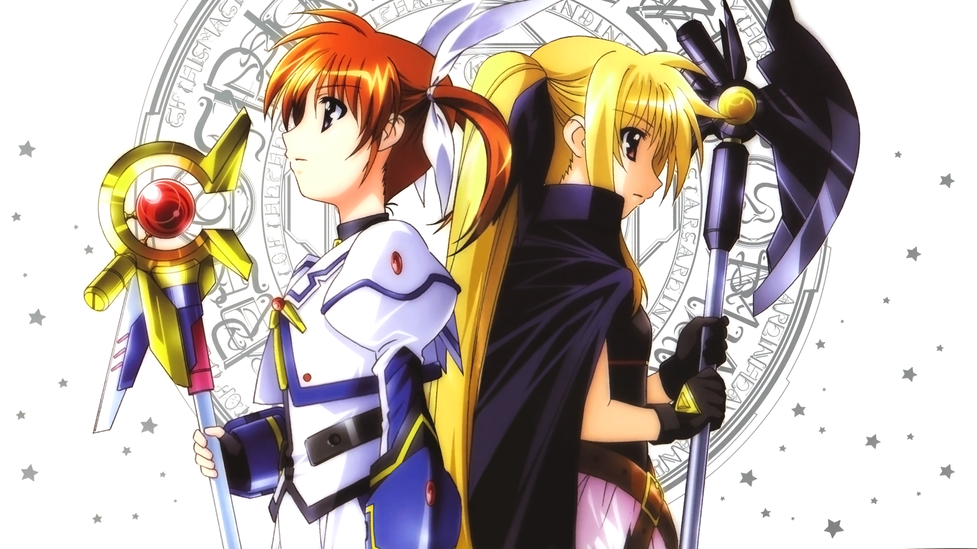 Anime Girl With Cat Ears Wallpaper Magical Girl Lyrical Nanoha Strikers Hd Wallpaper