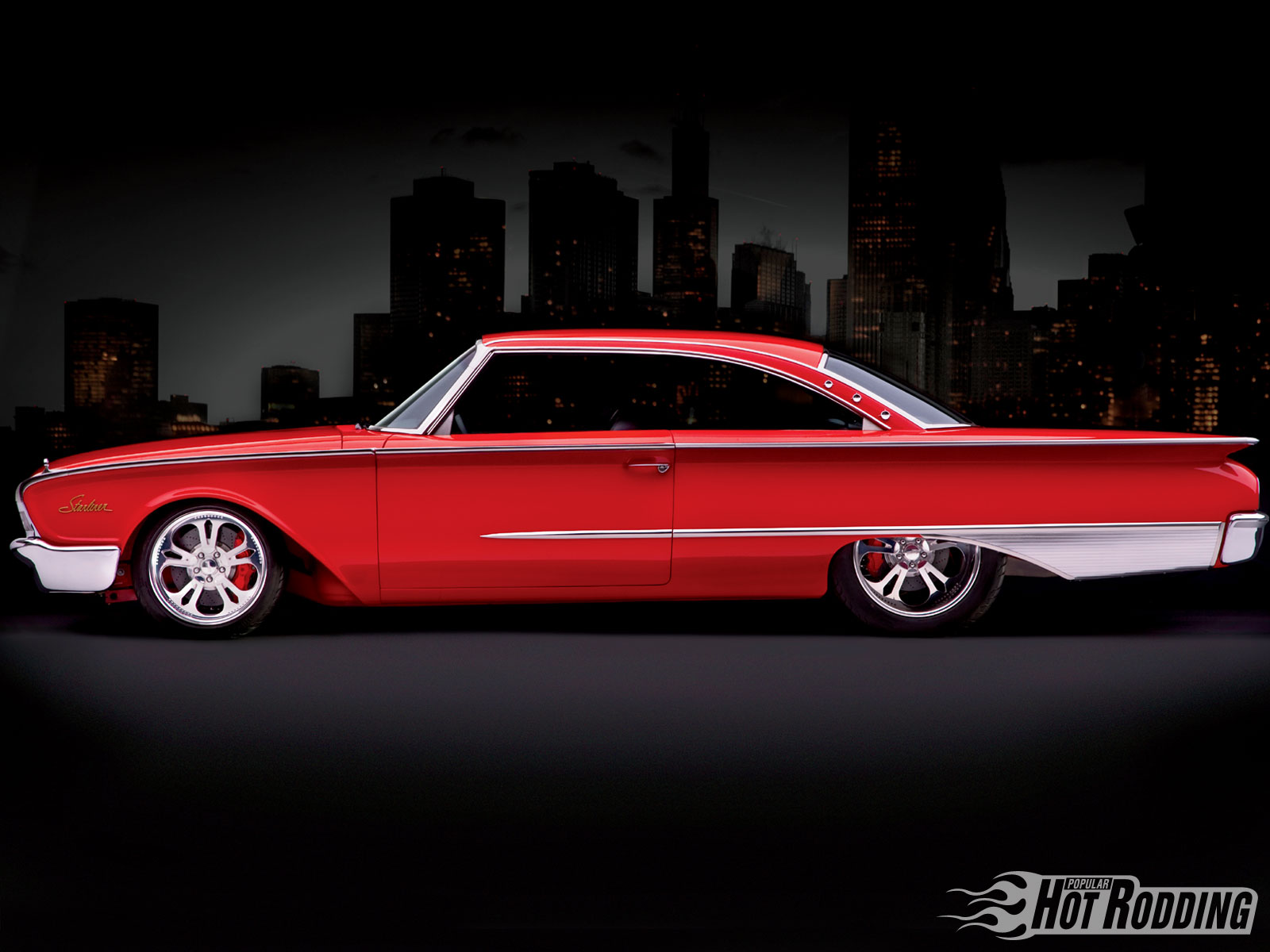 Muscle Car Iphone Wallpaper 1960 Ford Starliner Wallpaper And Background Image