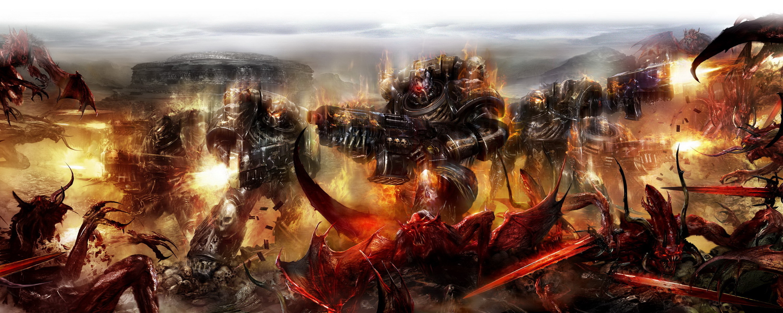 Total War Warhammer Wallpaper Hd Warhammer Full Hd Bakgrund And Bakgrund 3000x1200 Id