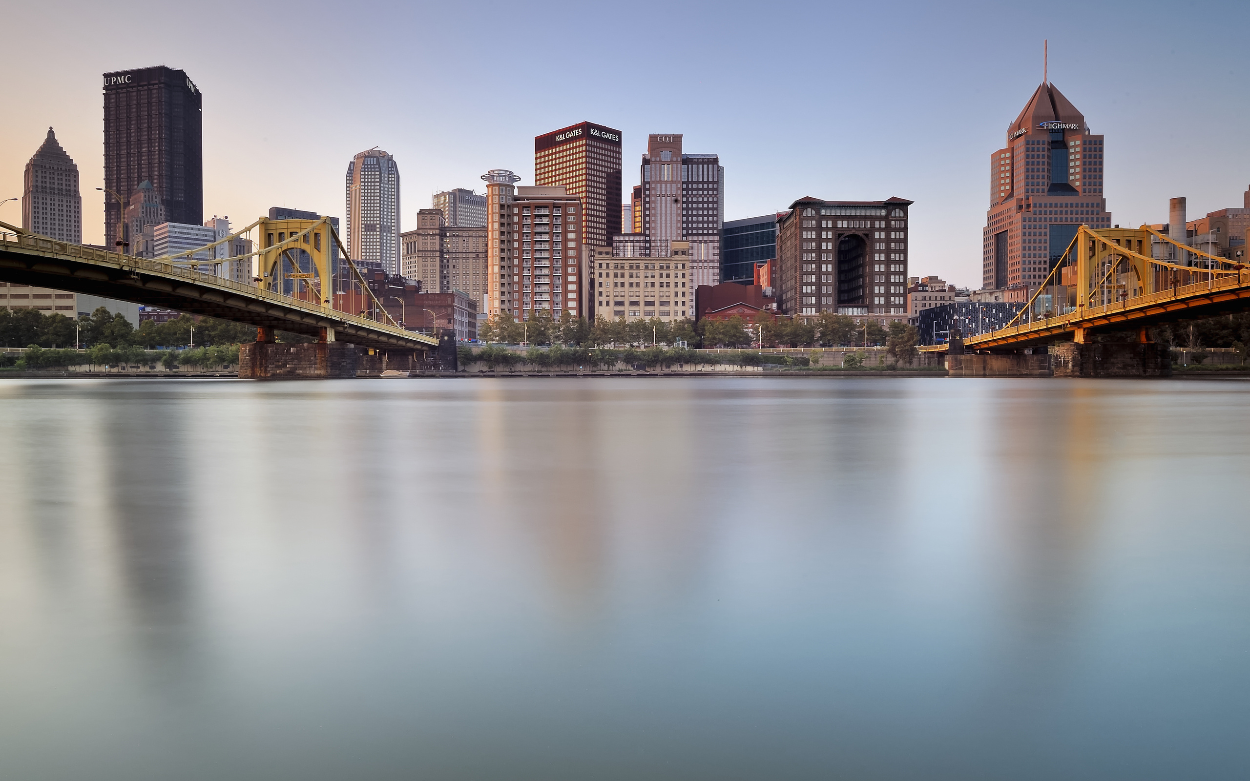 Fall Dual Monitor Wallpaper Pittsburgh Full Hd Wallpaper And Background Image
