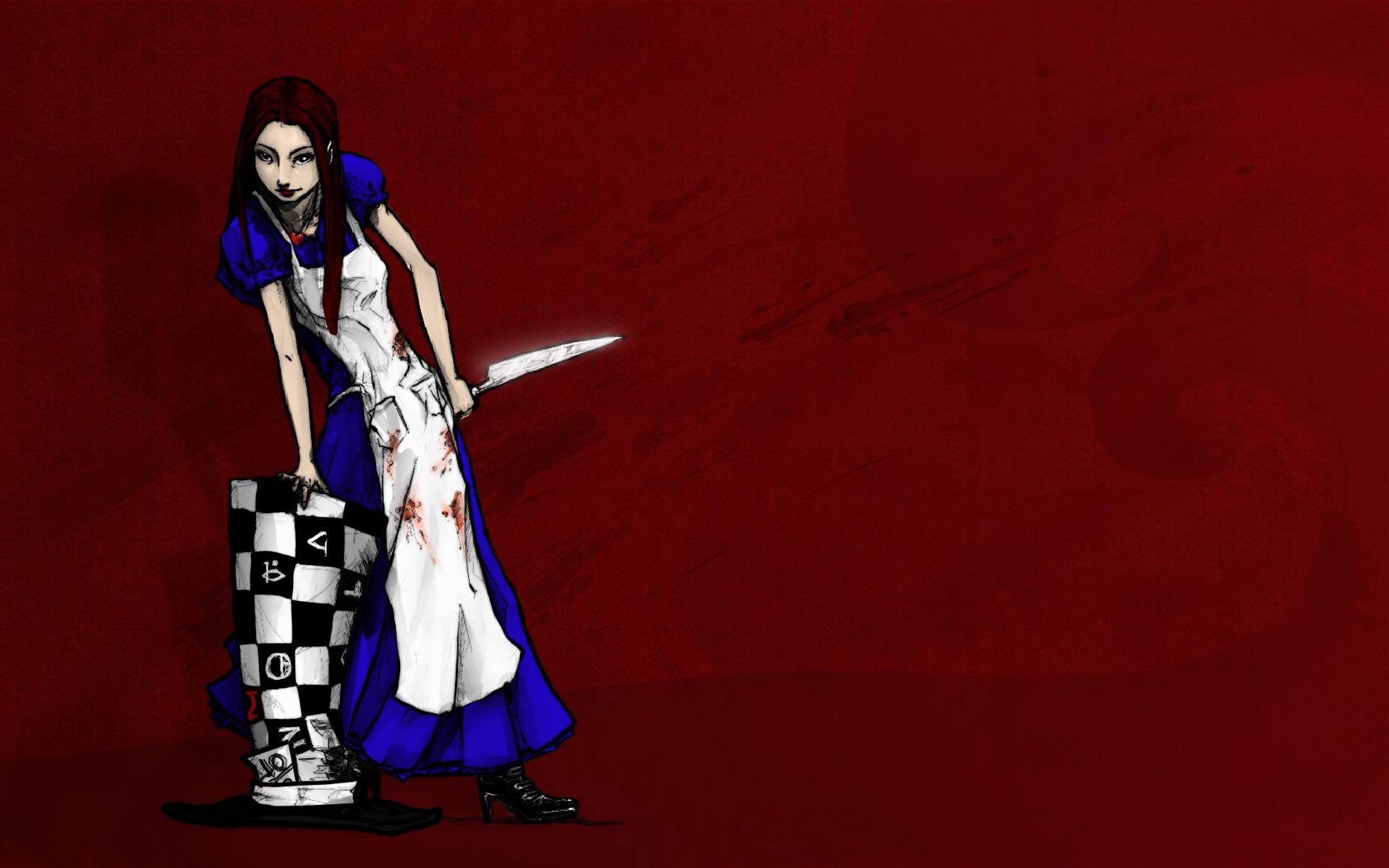 Alice In Wonderland Wallpaper Iphone Alice Madness Returns Full Hd Wallpaper And Background