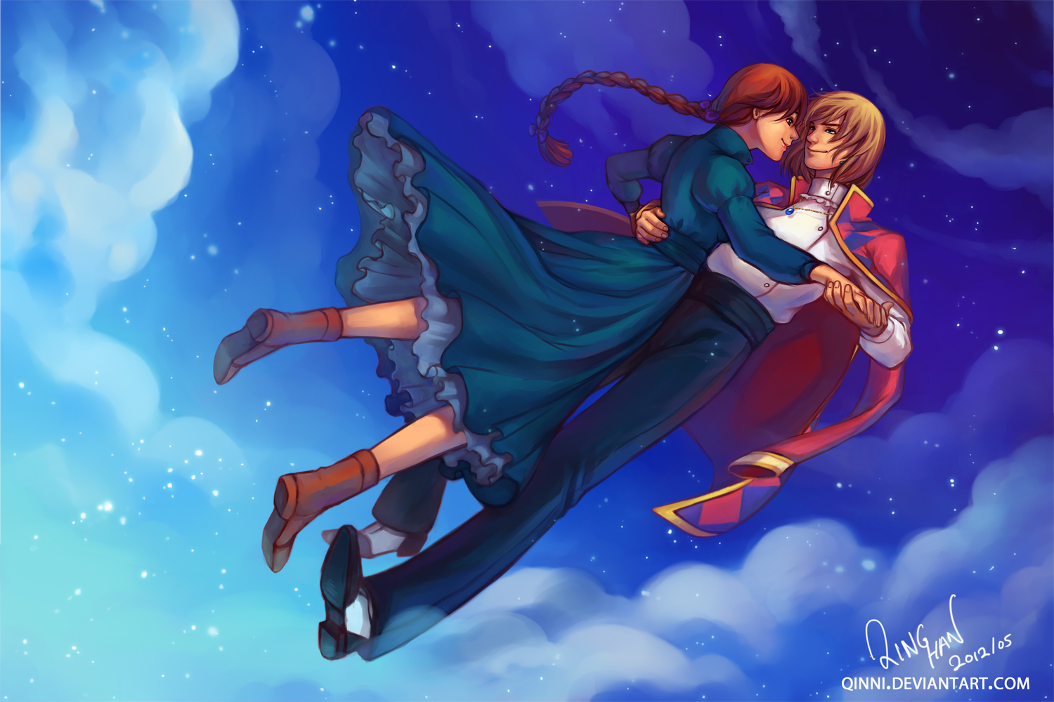 Howls Moving Castle Hd Wallpaper Howl S Moving Castle Wallpaper And Background 1500x1000