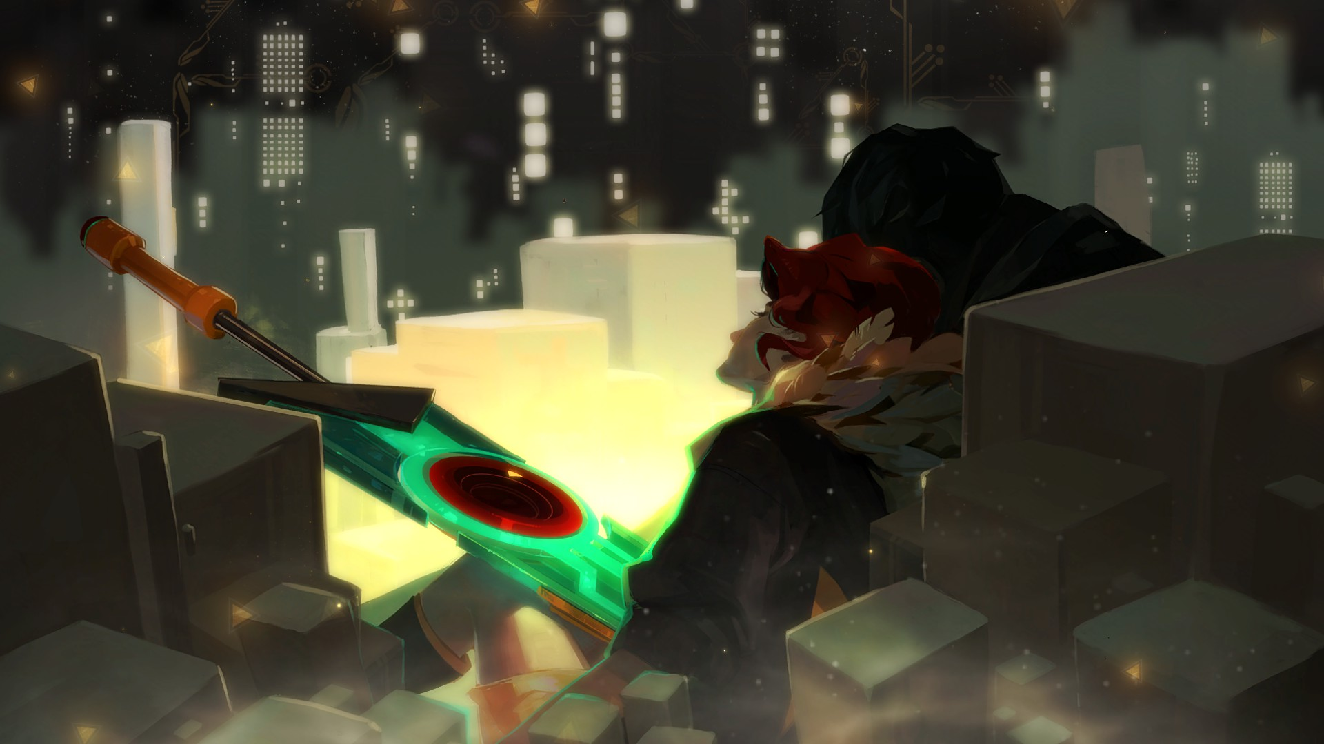 Videogame Wallpapers With Quotes Transistor Computer Wallpapers Desktop Backgrounds