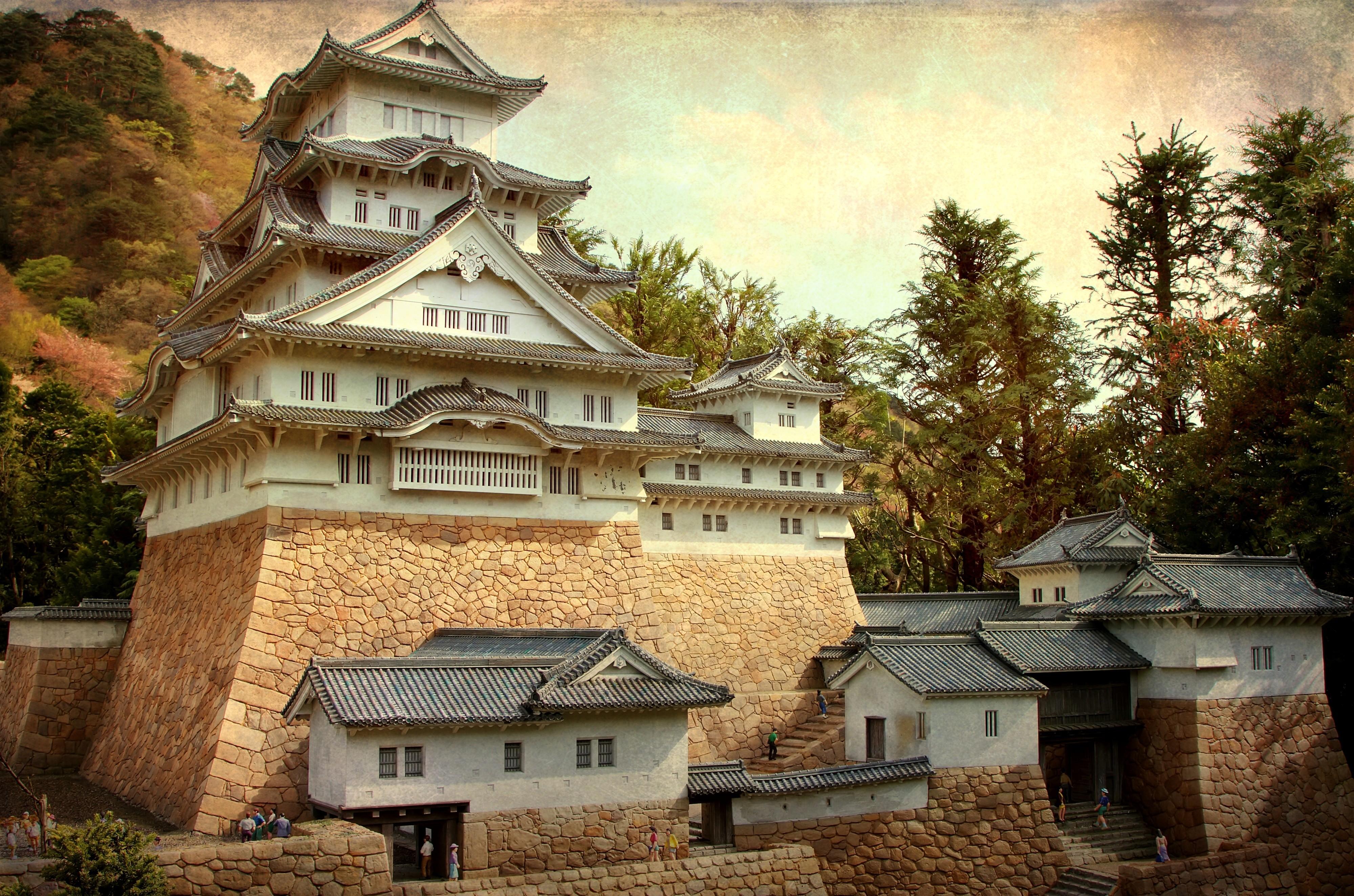 Japan Wallpaper Hd Iphone Himeji Castle The White Egret Castle 4k Ultra Hd