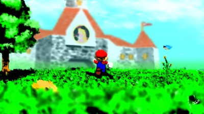 Super Mario 64 HD Wallpaper | Background Image | 1920x1080 | ID:570061 - Wallpaper Abyss