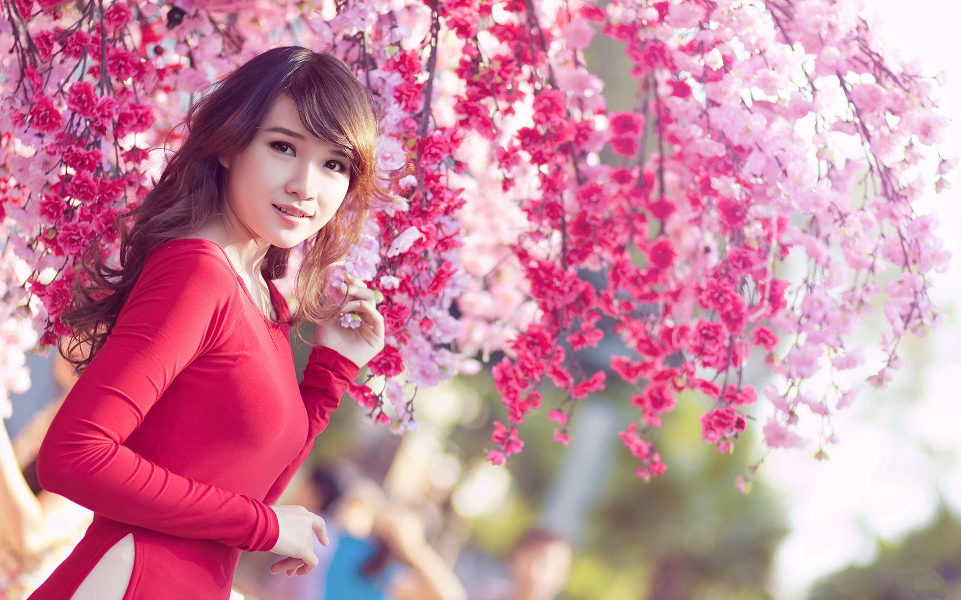 Beautiful Chinese Girl Paintings Widescreen Wallpaper Beautiful Full Hd Wallpaper And Background Image