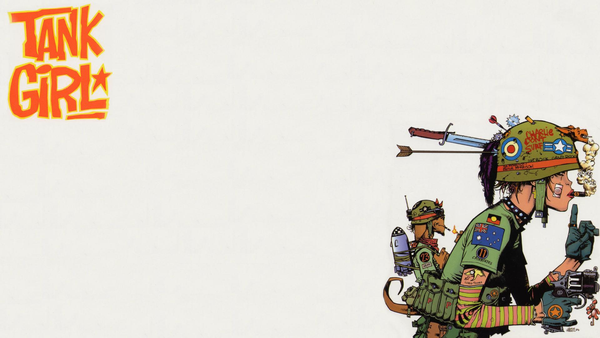 Gorillaz Iphone Wallpaper Tank Girl Full Hd Wallpaper And Background Image