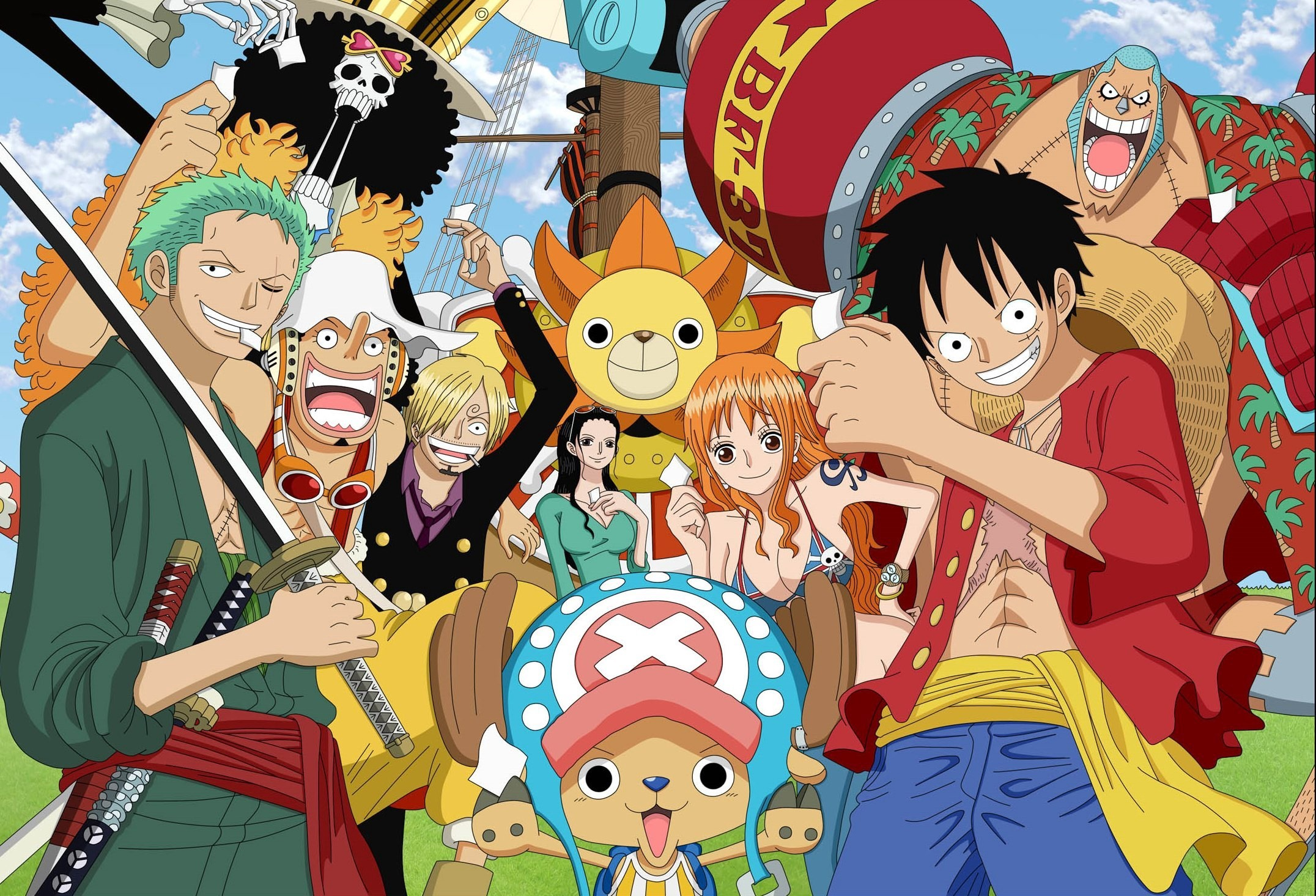 One Piece Wallpaper Iphone Luffy S Crew Full Hd 壁纸 And 背景 2152x1466 Id 643508