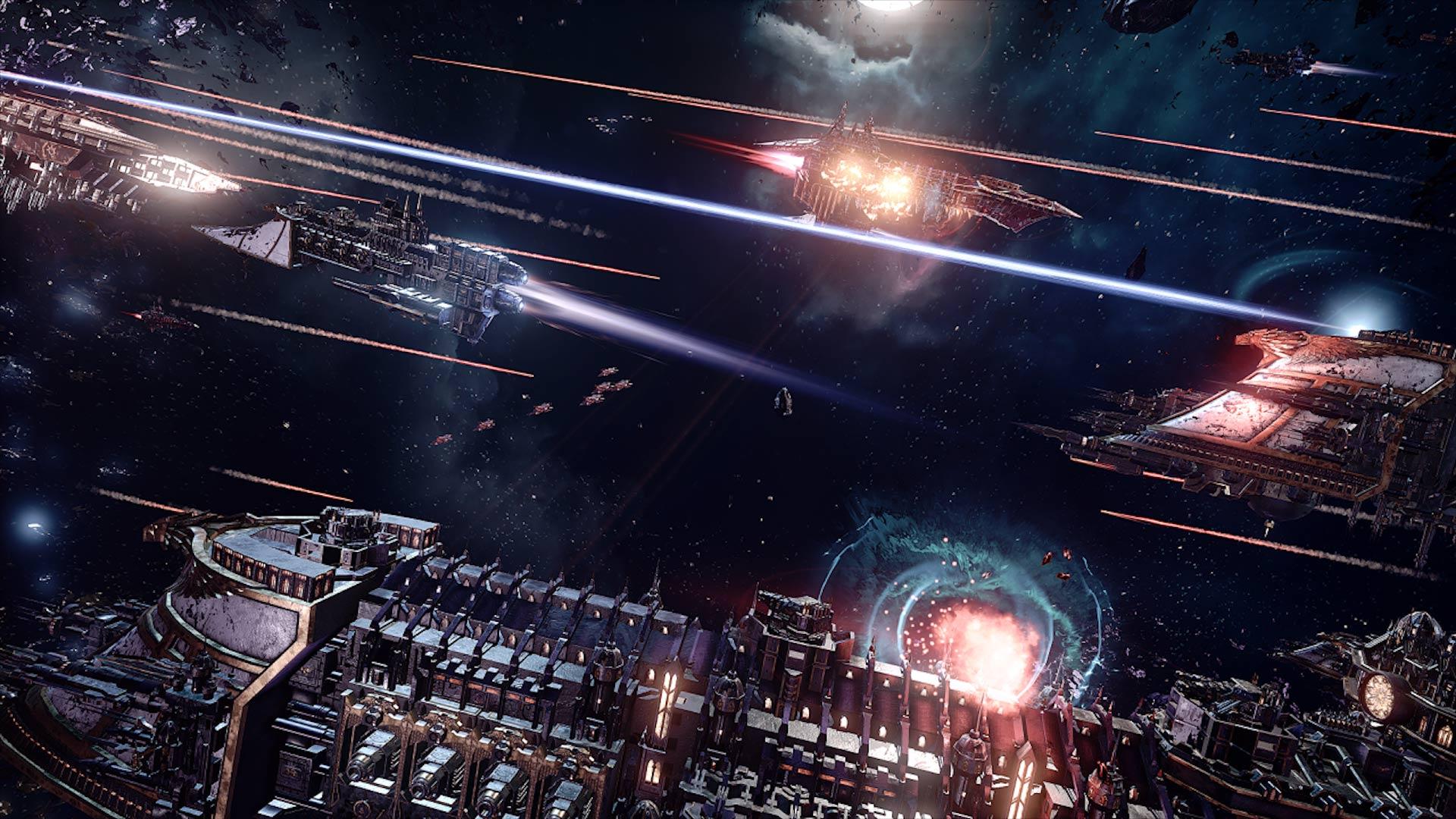 Andromeda Galaxy Wallpaper Iphone Battlefleet Gothic Armada Hd Wallpaper Background Image