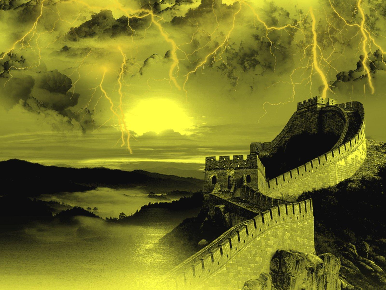 Blue Sky 3d Wallpaper 367 Lightning Hd Wallpapers Background Images