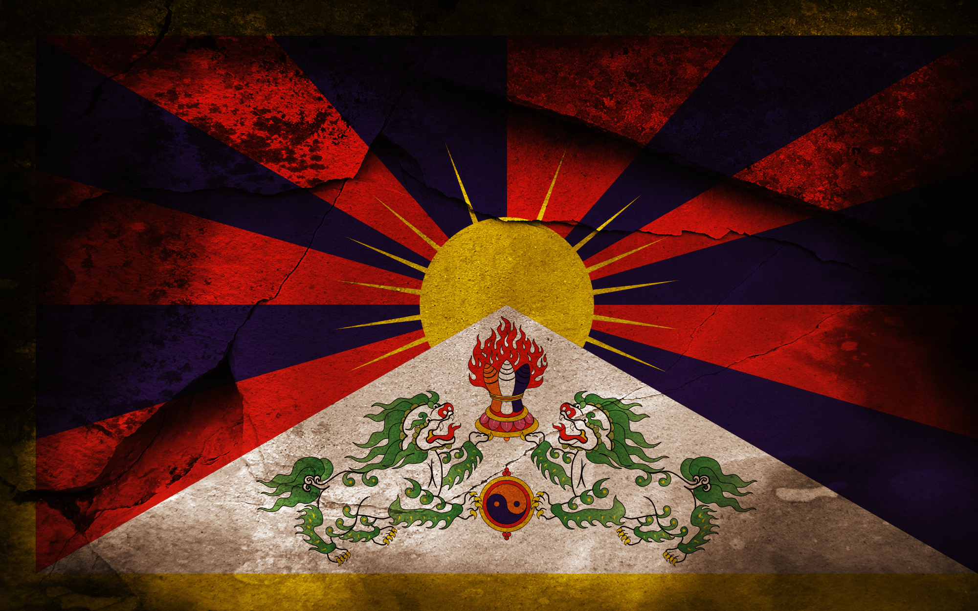 Cool Quote Wallpapers Hd 1920x1080 1 Flag Of Tibet Hd Wallpapers Backgrounds Wallpaper Abyss