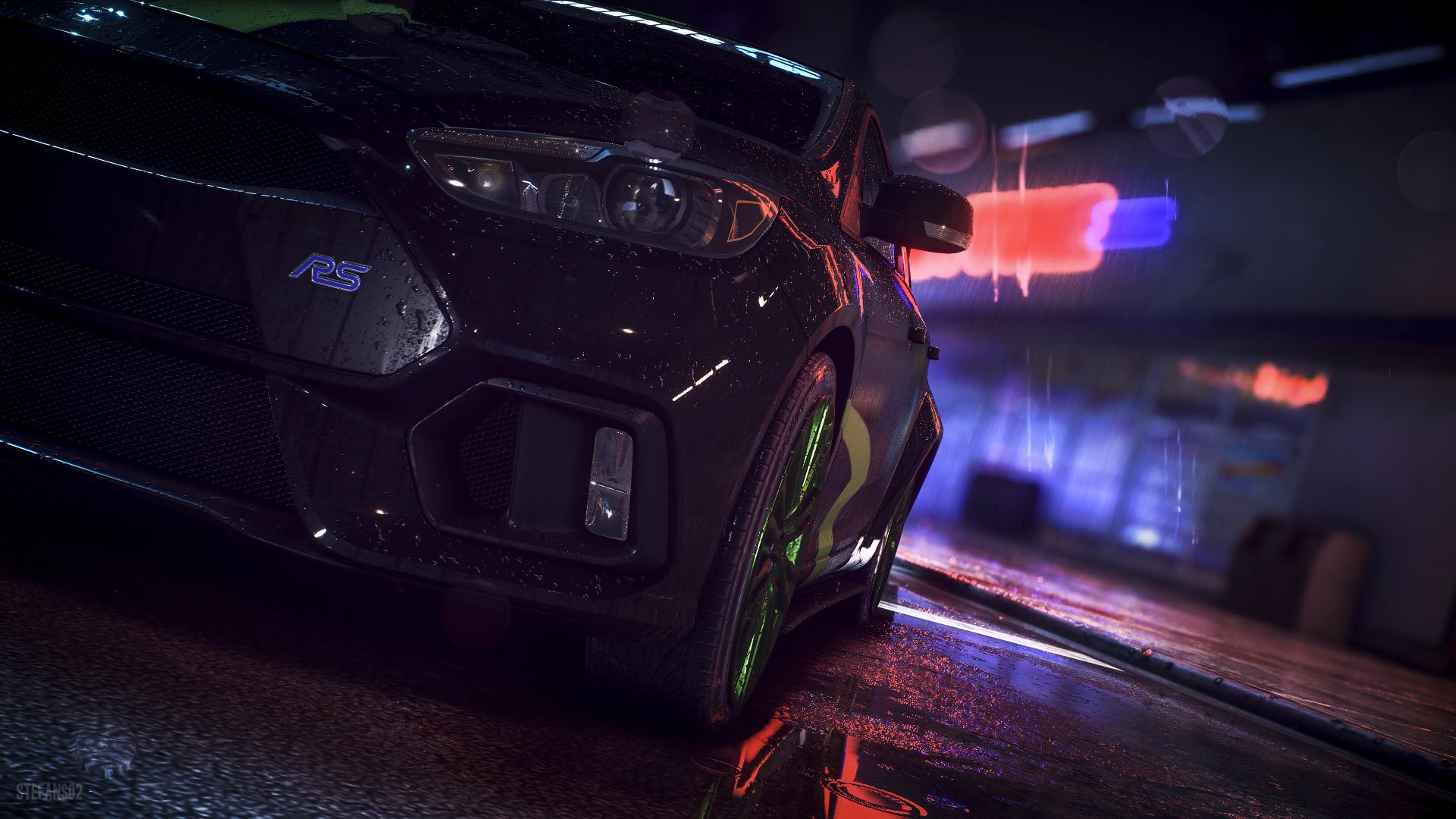 Bmw 5 Series Wallpaper Iphone Need For Speed Ford Focus Rs 2016 4k Ultra Hd Wallpaper