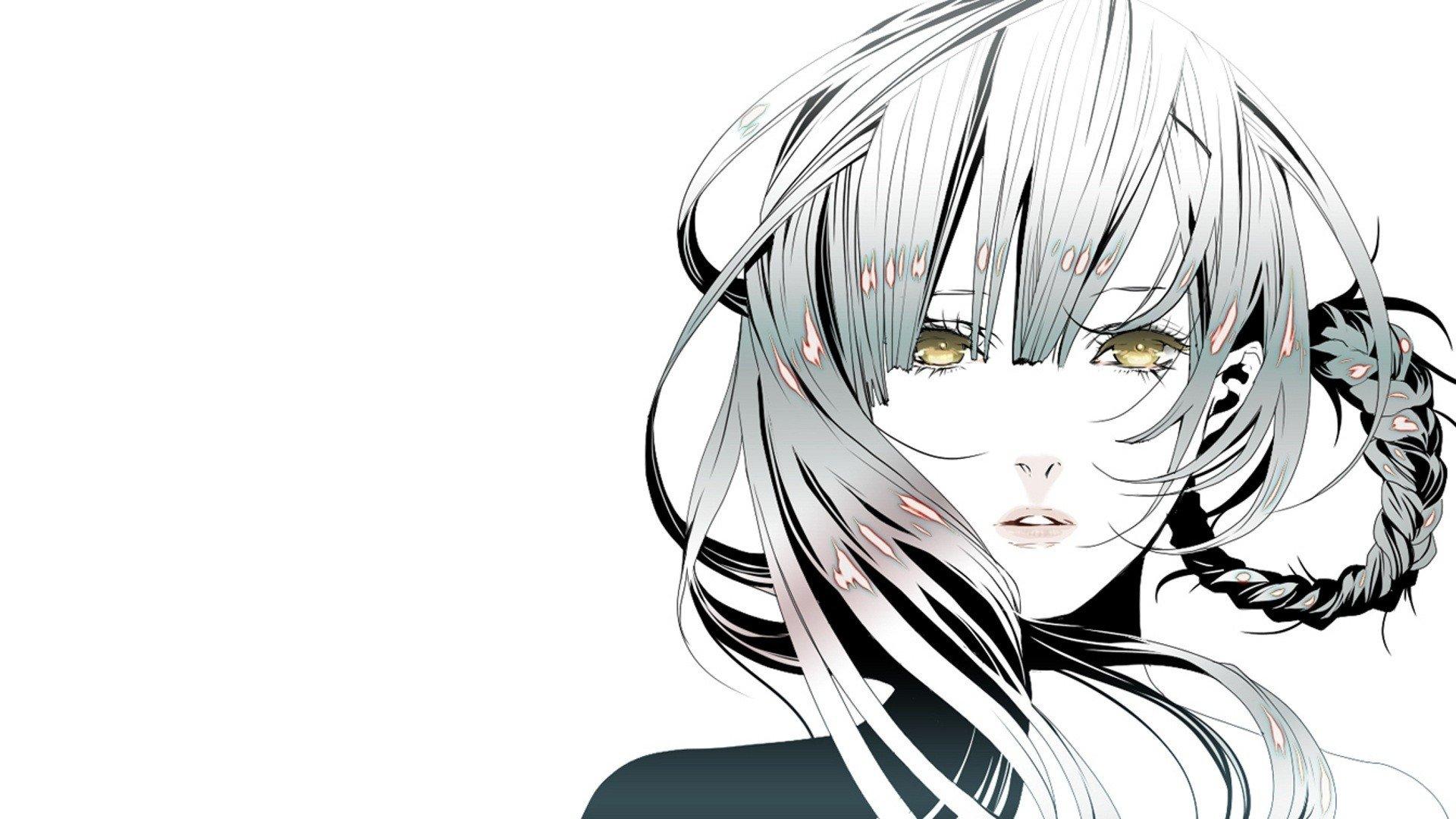 Anime Girl Big Eyes Hd Wallpapers Nier Automata Hd Wallpaper Background Image 1920x1080