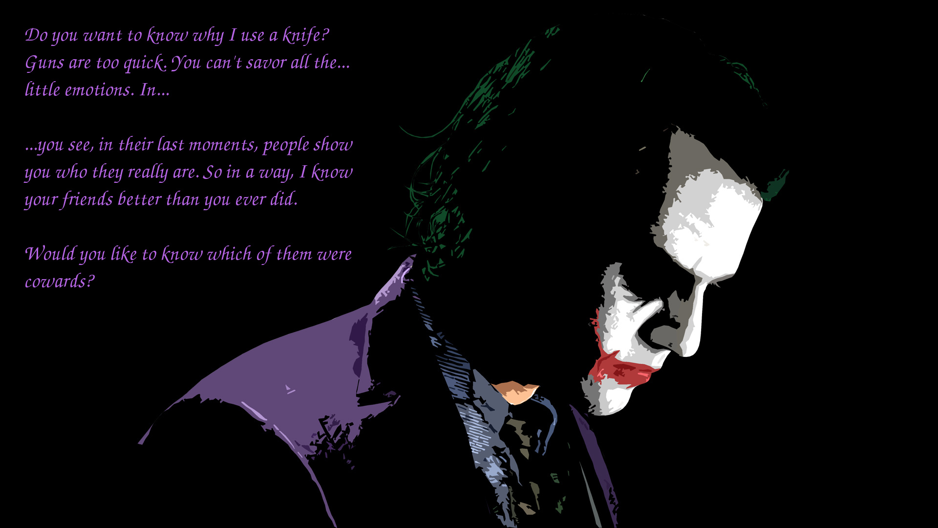 Batman Joker Quotes Mobile Wallpaper The Dark Knight Hd Wallpaper Background Image