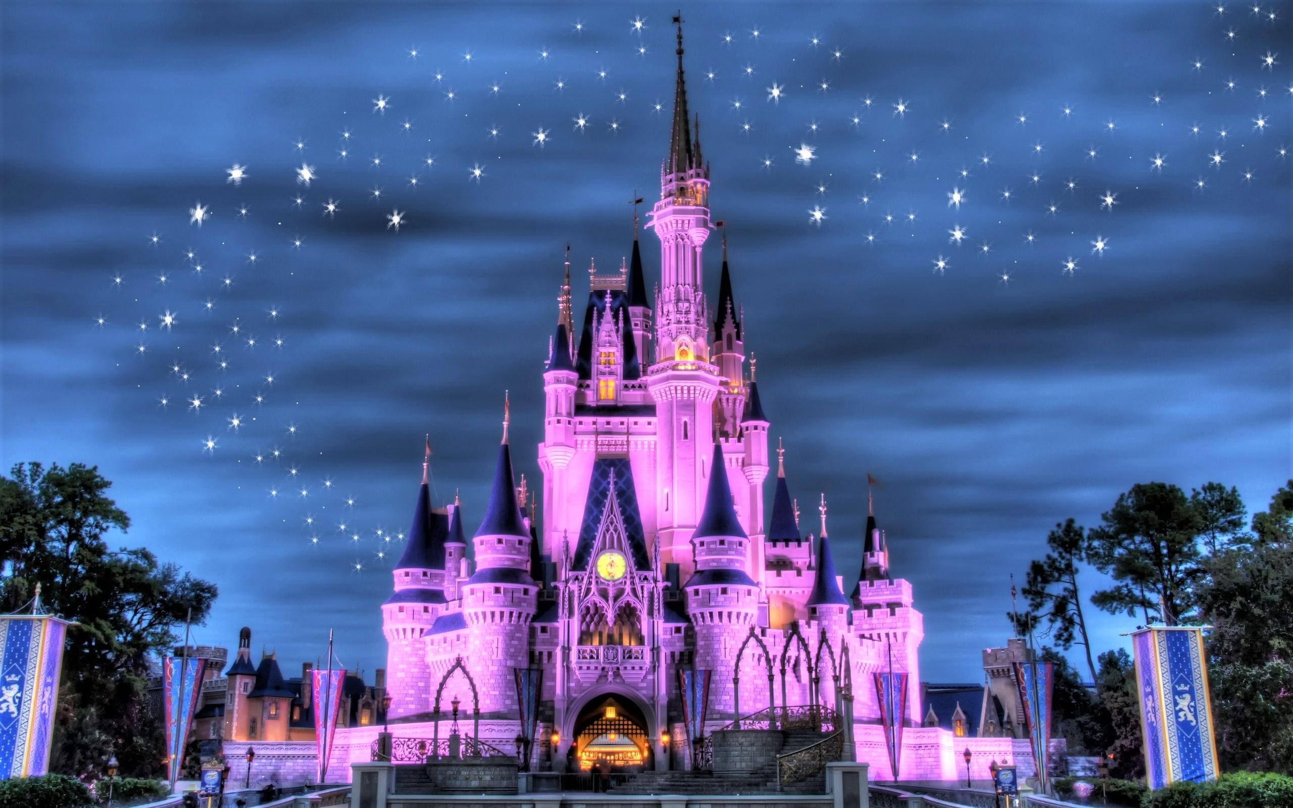 Walt Disney World Iphone Wallpaper Disneyland Castle Hd Wallpaper Background Image