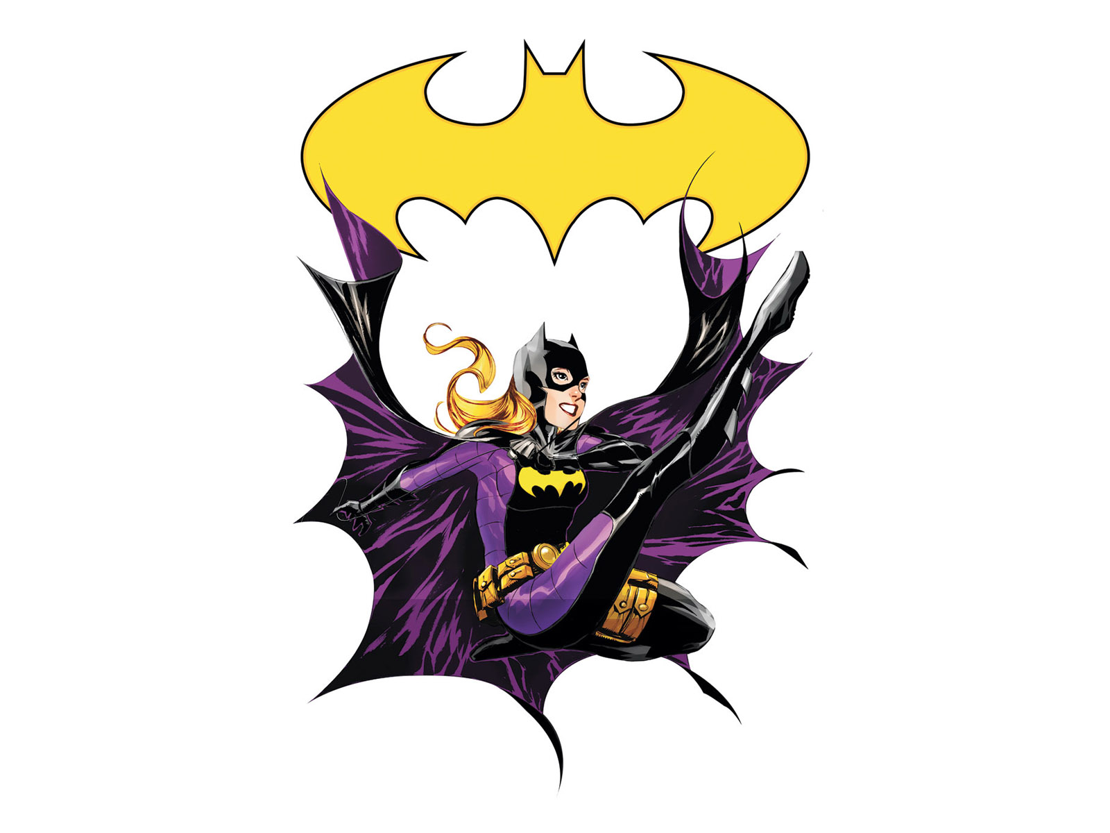 Bat Girl Wallpapers Batgirl Wallpaper And Background Image 1600x1200 Id 97721