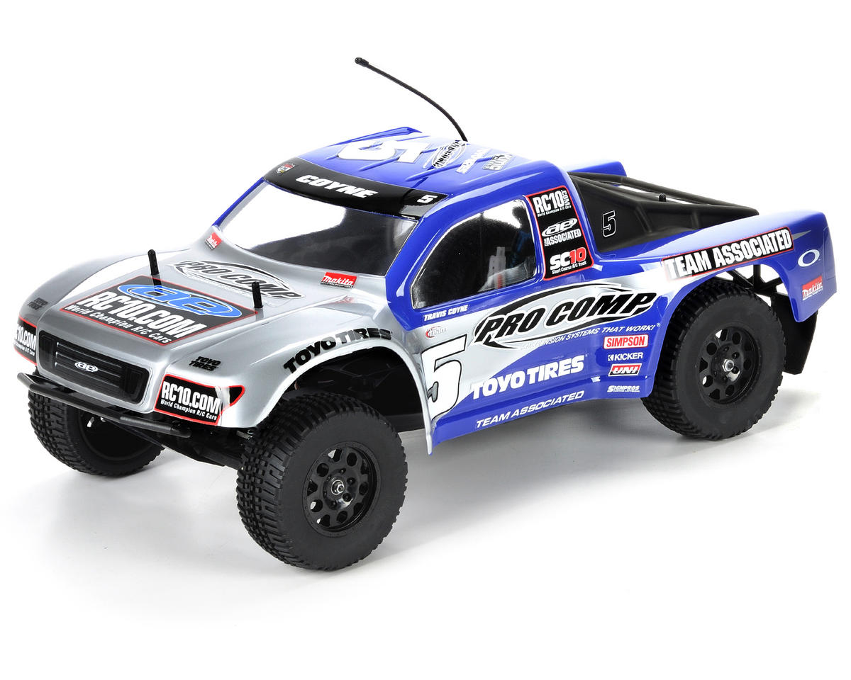 Rtr Rc Trucks Electric Team Associated Sc10 Rtr 1 10 Electric 2wd Short Course Truck Pro Comp Asc7028 Cars Trucks