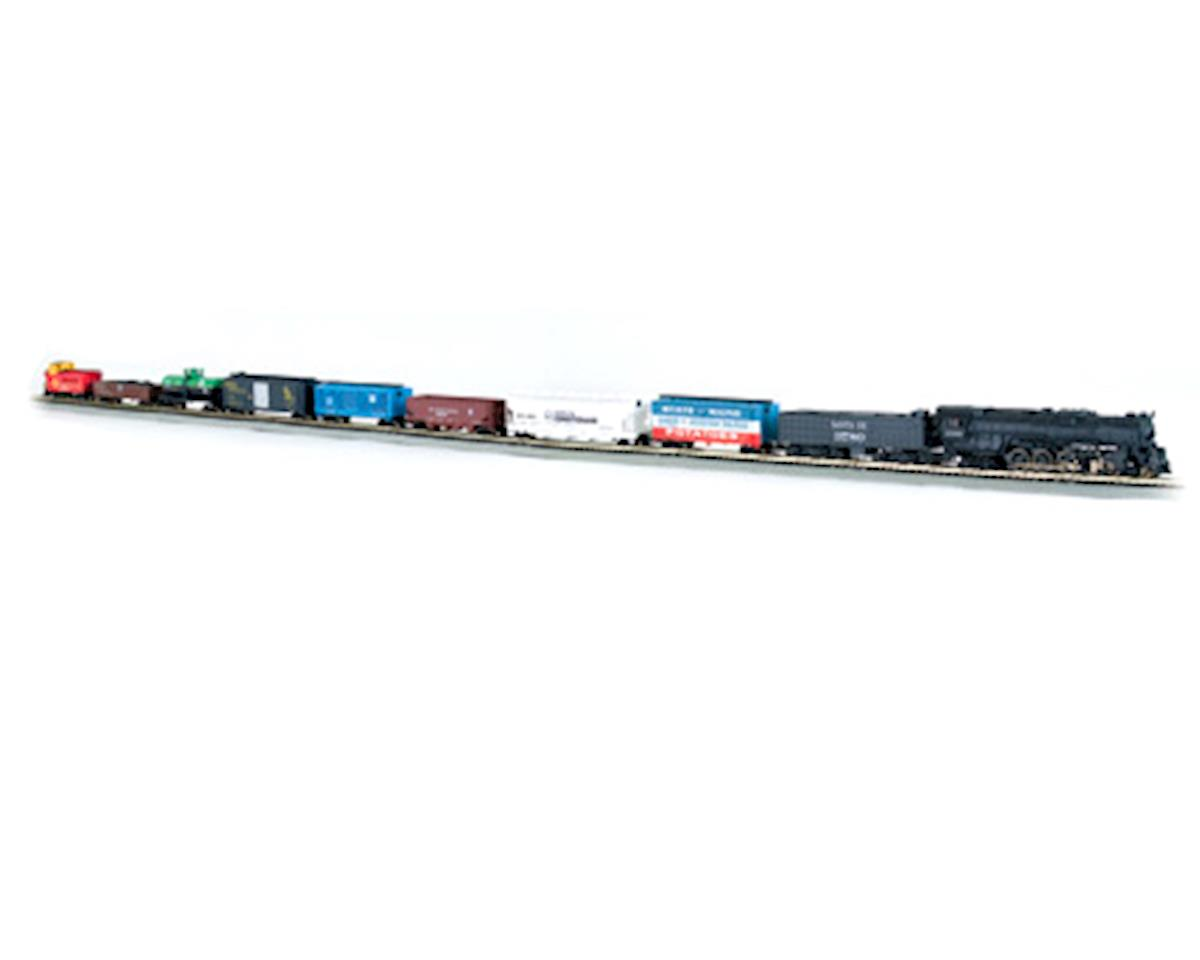 Bachmann N-Scale Empire Builder Train Set (Santa Fe) BAC24009