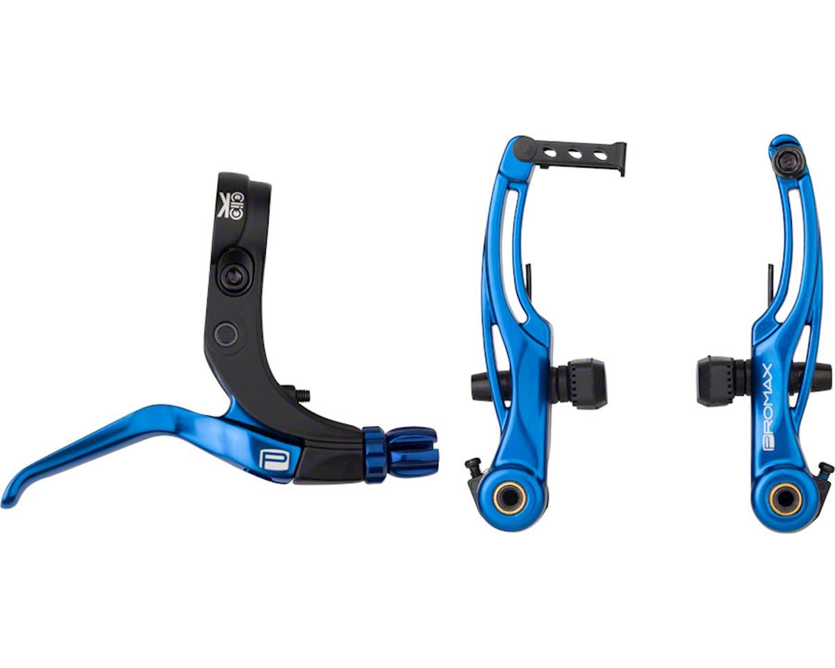 Point P Roubaix Promax P 1 Click V Point Brake Kit 108mm Blue Px Bk13vb108 Bl