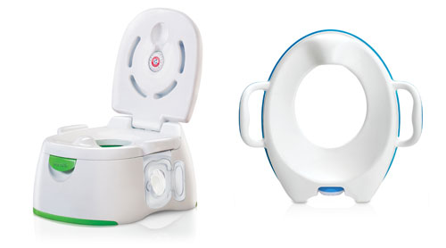 Munchkin Arm & Hammer 3-in-1 Potty Seat and Munchkin Arm & Hammer Secure Comfort Potty Seat
