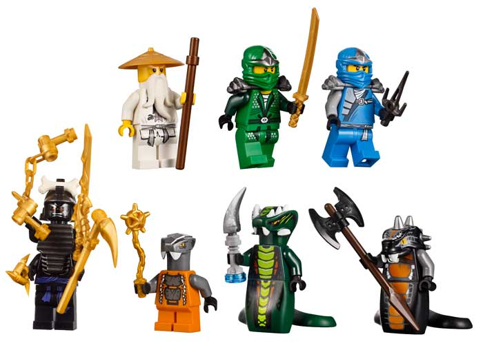 Lego Minifigure Coloring Pages Includes eight minifigures modeled after some of the show s most x