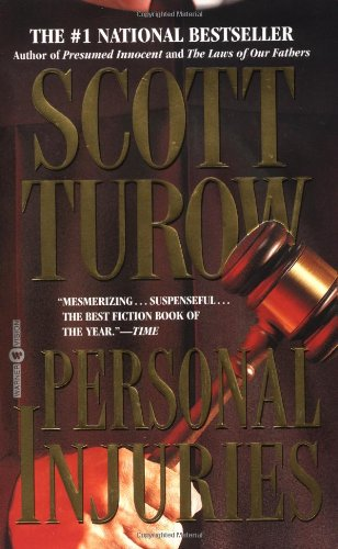 Scott Turow  Reversible Errors  Personal Injuries  The Laws of - Presumed Innocent Author