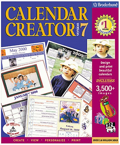 Calendar Maker Pro Deluxe Product Description Welcome To Individual Software Software Online Store Business And Office Schedule