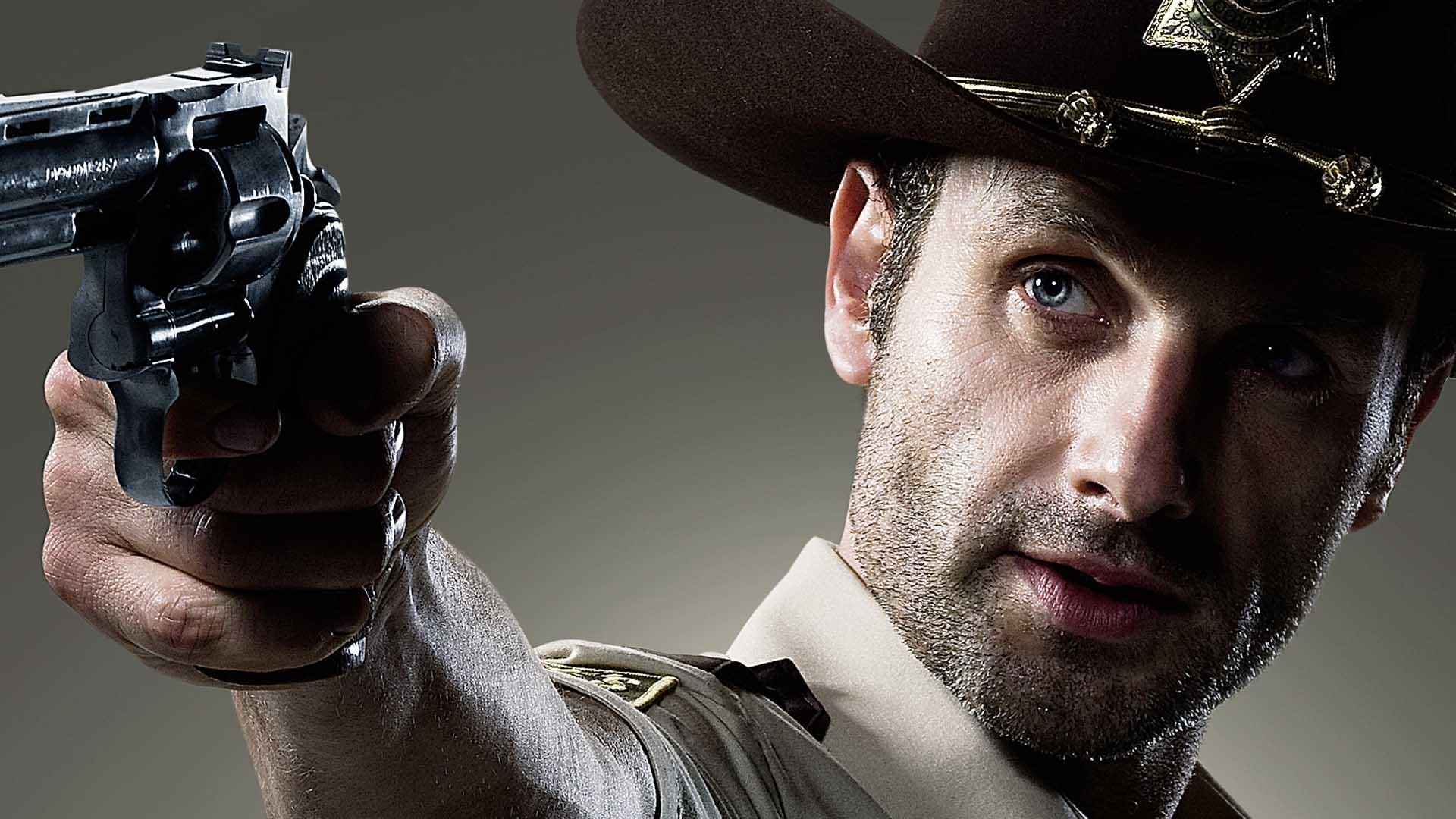 Girl Gun Desktop Wallpaper Video Extra The Walking Dead Who Is Rick Grimes The