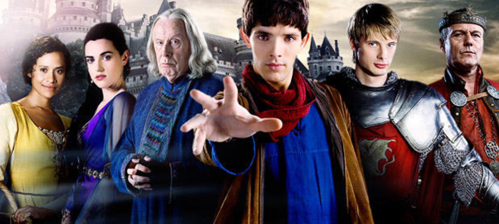 Bbc america s merlin aired for five years from 2008 2012 bbca