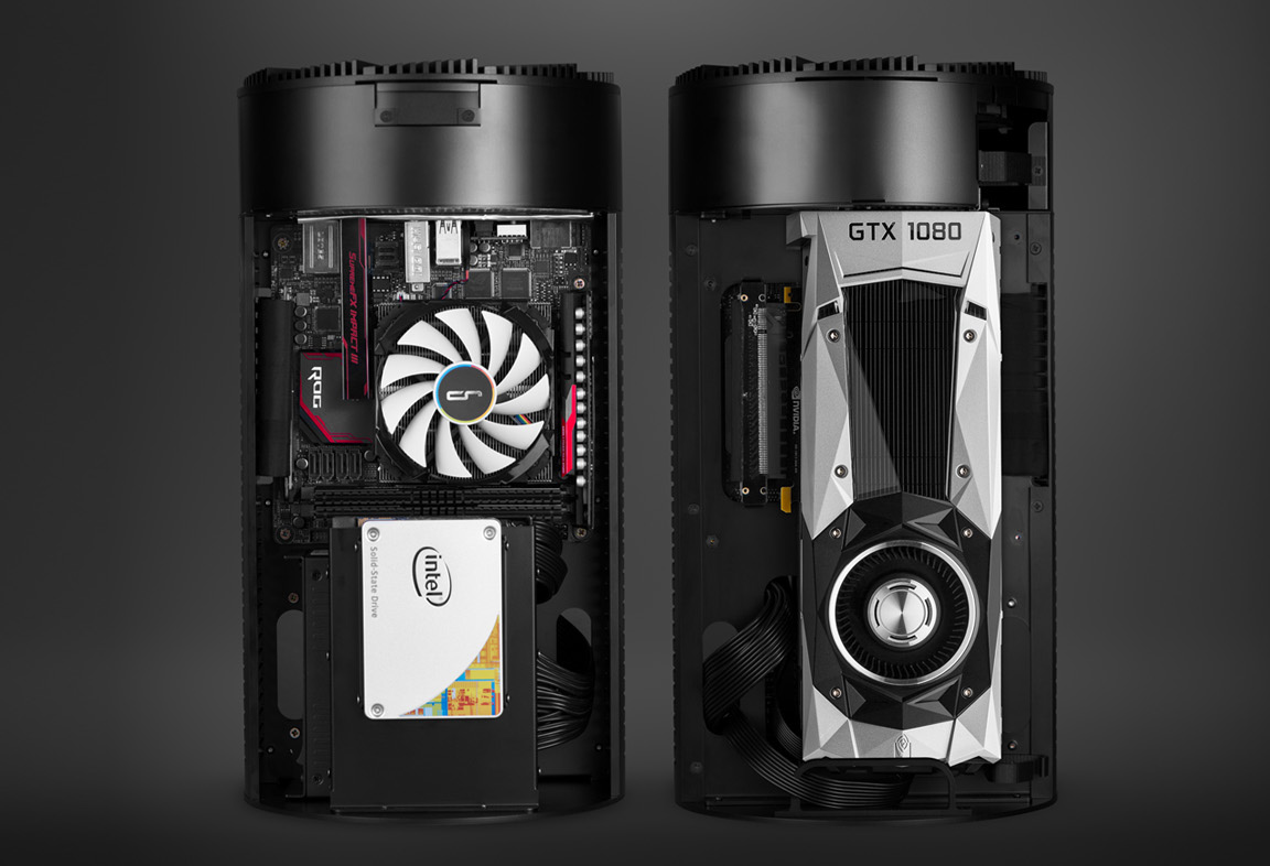 Case Pc Cryorig Unveils Mac Pro Like Pc Case For Gaming Pcs Ultra Slim