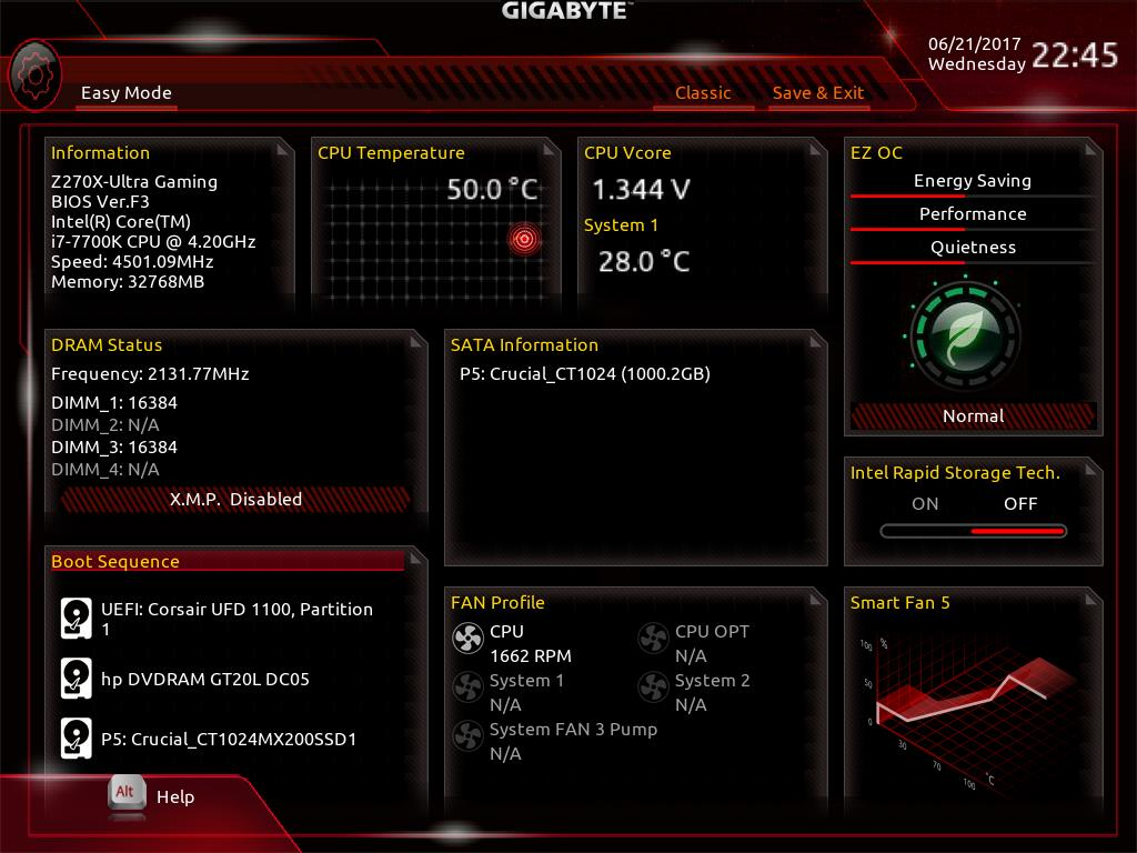 Gigabyte Z270x Ultra Gaming Bios Software The Asus