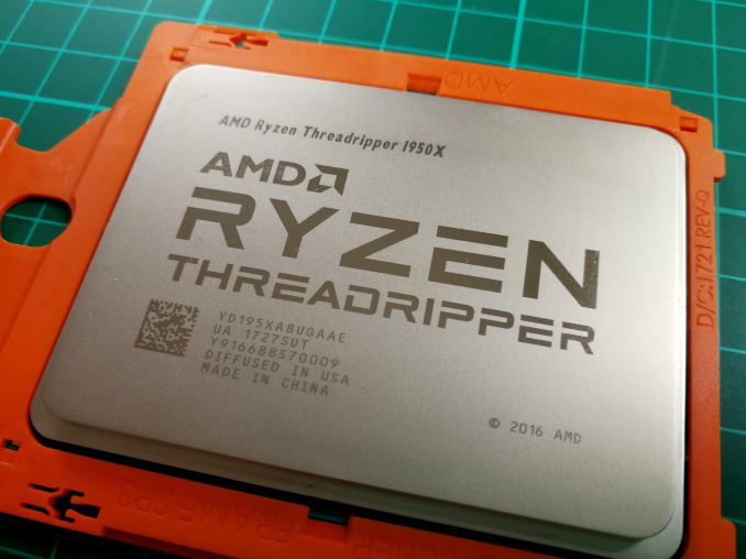 The 2017 Benchmark Suite - The AMD Ryzen Threadripper 1950X and