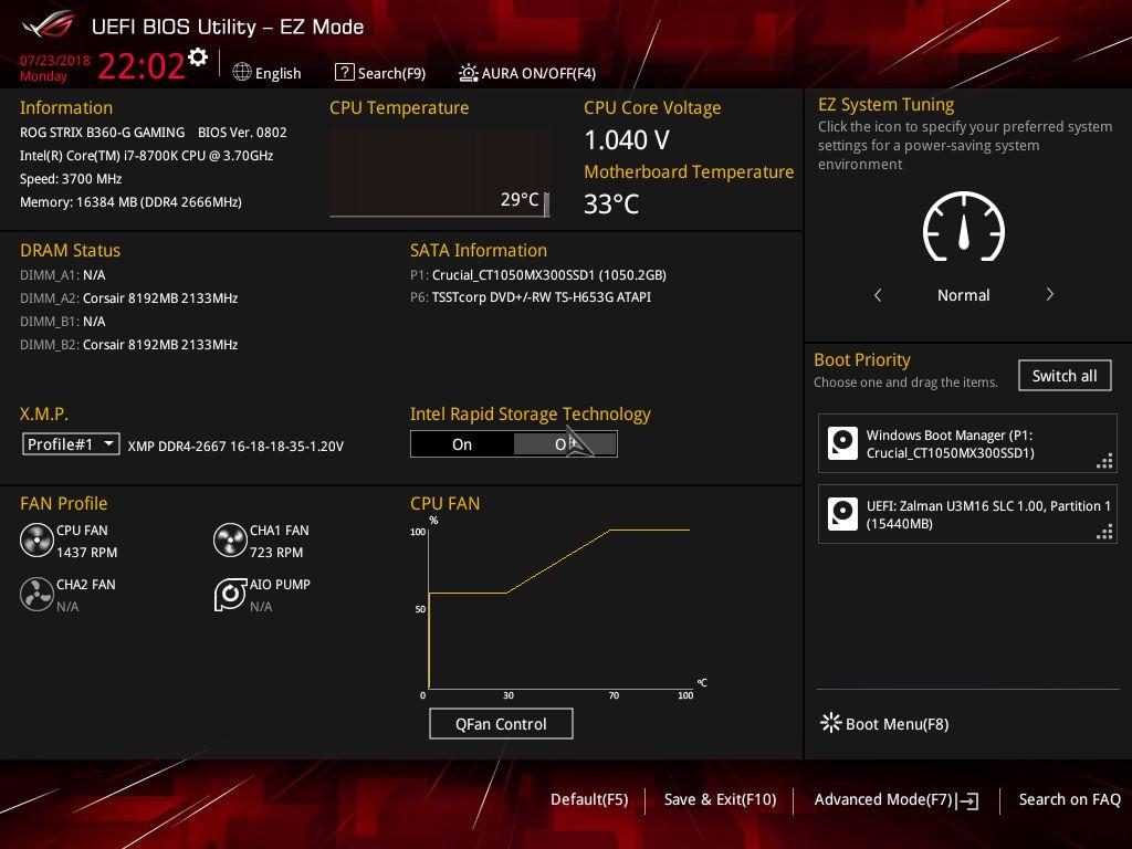 Bios And Software The Asus Rog Strix B360 G Gaming