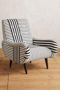 Striped Losange Chair | Anthropologie