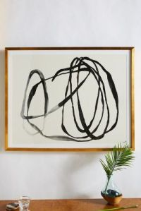 Motion Lines 3 Wall Art | Anthropologie