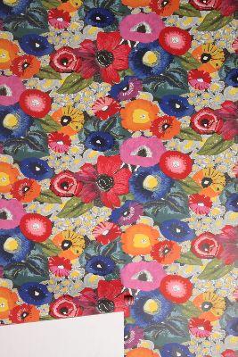 Blazing Poppies Wallpaper | Anthropologie