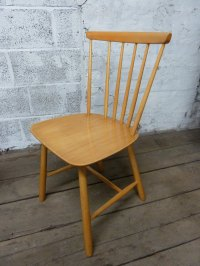 Antiques Atlas - Mid Century Danish Stick Back Chair By ...
