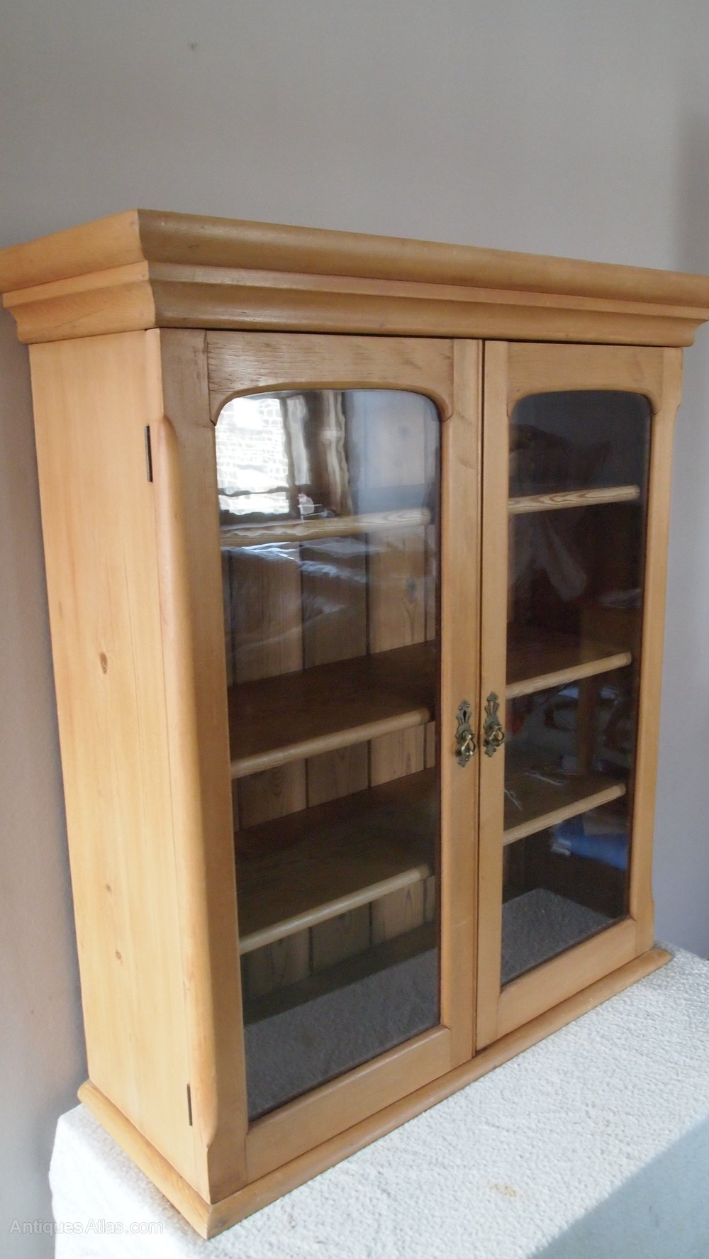 Cabinet Cupboard Victorian Antique Pine Wall Cupboard - Antiques Atlas
