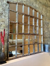 Antiques Atlas - Antique Slow Arch Window Mirror