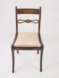 Antique Painted Regency Chair - Antiques Atlas